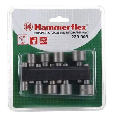 Набор торцевых головок Hammer Flex 229-009 (62247)