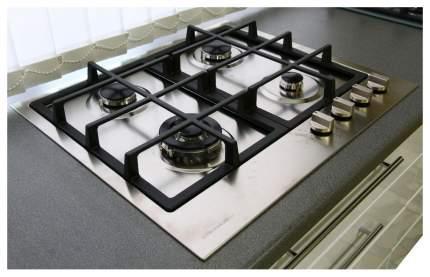 Встраиваемая варочная панель газовая Electronicsdeluxe TG4 780231 F MW ЧР Silver