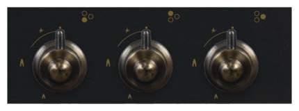 Встраиваемая варочная панель газовая Simfer H45V35L512 Black