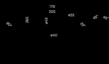 Смеситель для кухонной мойки OMOIKIRI Pure life Hotaru CH-BE 4994052 вороненая сталь