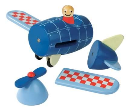 Конструктор Janod магнитный Самолет