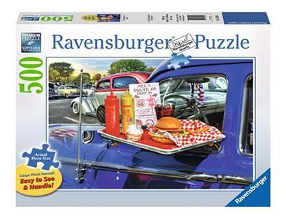 Пазл Ravensburger На шоссе 66 500 деталей