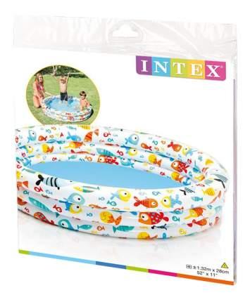 Бассейн надувной Intex Рыбки