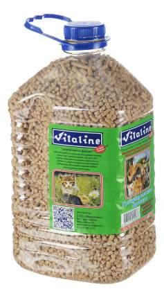 Наполнитель Vitaline древесный, впитывающий 3 кг