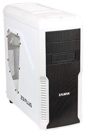 Компьютерный корпус Zalman Z3 Plus без БП white