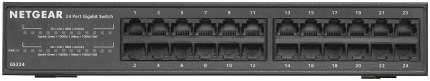 Коммутатор NetGear GS324-100EUS Черный