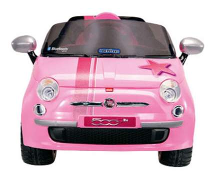 Электромобиль Peg-Perego Peg-Perego Fiat 500 Star Pink R/C