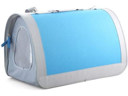 Сумка-переноска Triol 46x46x26.5см серый, голубой