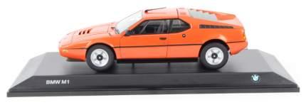 Коллекционная модель BMW M1 оранжевый