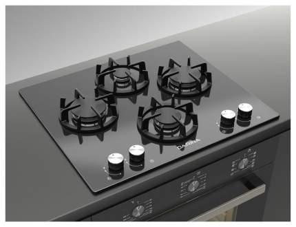 Встраиваемая варочная панель газовая Darina 2T BGC 341 12 B Black
