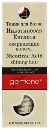 Тоник для волос Gemene с никотиновой кислотой 30 мл