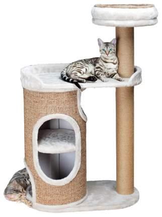 Комплекс с когтеточкой для кошек Trixie Falcot, размер 70х38х117см, светло-серый