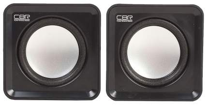 Колонки компьютерные CBR CMS 90 Black динамики 4,5 см, USB