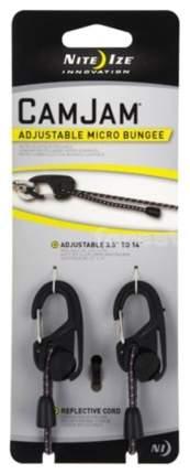 Крепление для веревки с карабином Nite Ize CamJam Micro Bungee NCJSB-M1-R8