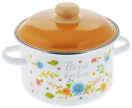 Набор кастрюль Appetite Floral kitchen 6шт