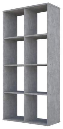Стеллаж Polini Home Smart Кубический 8 секции бетон