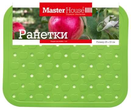 Коврик для сушки посуды MasterHouse 60420 Зеленый, серый