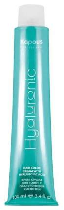 Краска для волос Kapous Professional Hyaluronic Acid 6.8 Темный блондин капучино 100 мл