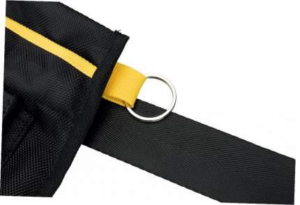 Сумка для лакомств Trixie Sporting, с ремнем до 120 см, черно-желтый