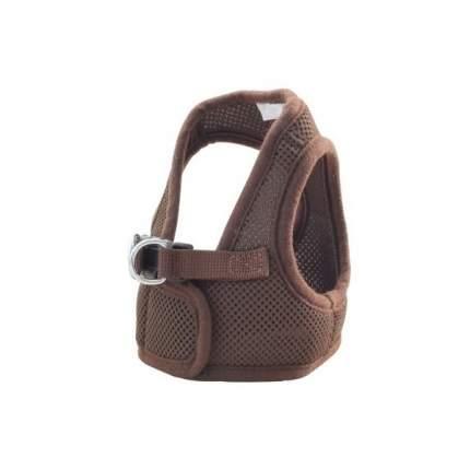 Шлейка для собак Triol М20509, коричневая, обхват груди 40см