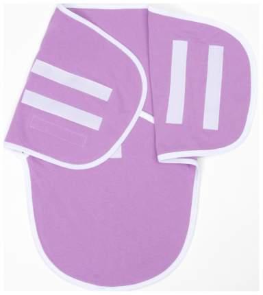 Пеленка-кокон на липучках, рост 50-62 см, цвет сиреневый 1139 Детская линия