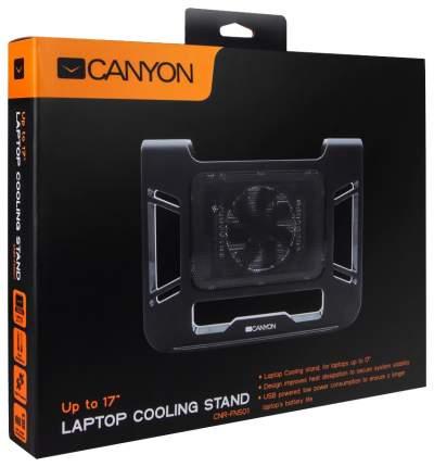 Подставка для ноутбука CANYON CNR-FNS01 Black