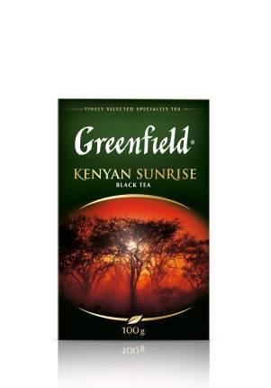 Чай черный Greenfield листовой kenyan sunrise 100 г
