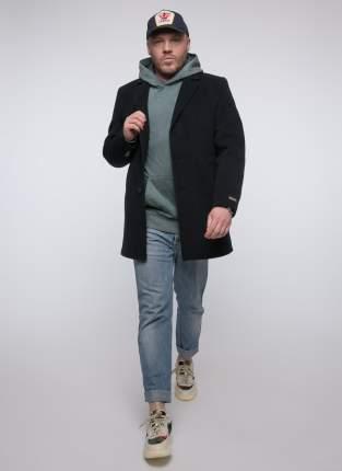 Пальто мужское Misteks 1922 (БЛИЦ-Сж) синее 50 RU
