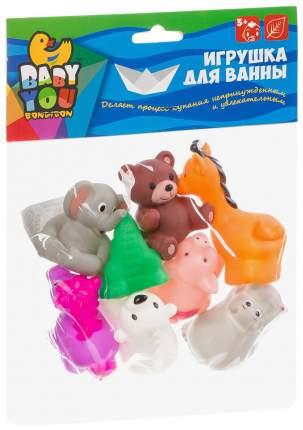 Набор игрушек для купания BONDIBON Зоопарк 8 шт.
