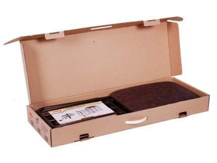 Подставка для обуви ЗМИ, 3 яруса, с сиденьем, 45х48х30см, до 120кг