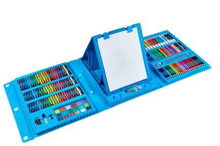 Набор для рисования и творчества Creative 208 предметов, голубой