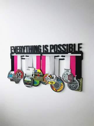 Медаллер Everything Is Possible черный