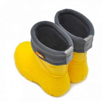 Сапоги Nordman Kids 229111-06 демисезонные желтые, размерм 28-29
