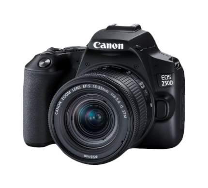 Зеркальный фотоаппарат Canon EOS 250D черный
