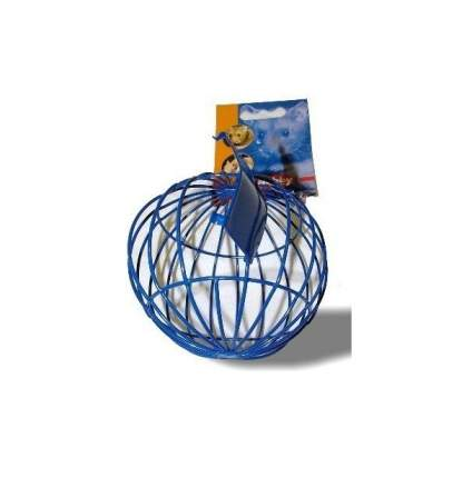 Кормушка-игрушка для грызунов Nobby ШАР, металлическая, для сена, салата