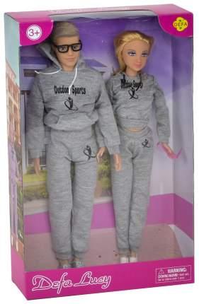 Набор из 2 кукол в спортивных костюмах Семья Defa Lucy
