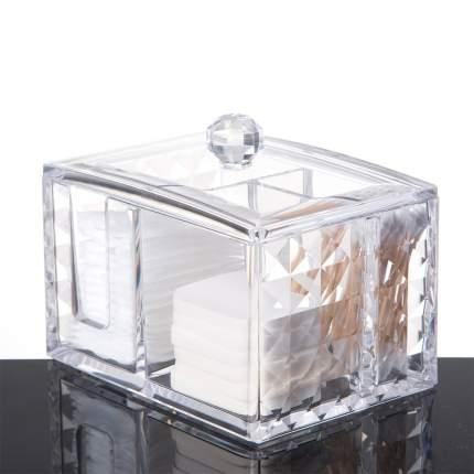 Акриловый органайзер для косметики Homsu на 3 секции Diamond