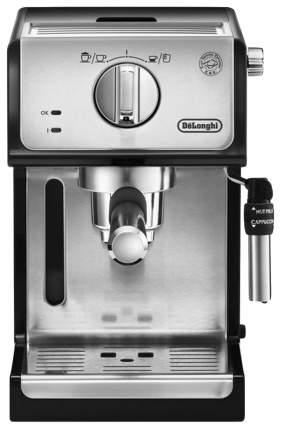 Кофеварка рожкового типа DeLonghi ECP 35.31 132104159 Серебристый, черный