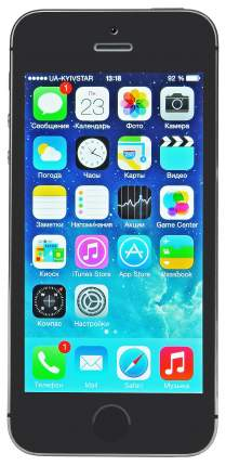 Смартфон Apple iPhone 5S 64Gb Space Gray (ME438RU/A)