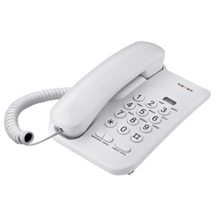 Телефон проводной teXet TX-212