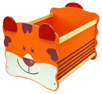Ящик для хранения игрушек I'm Toy Тигр оранжевый