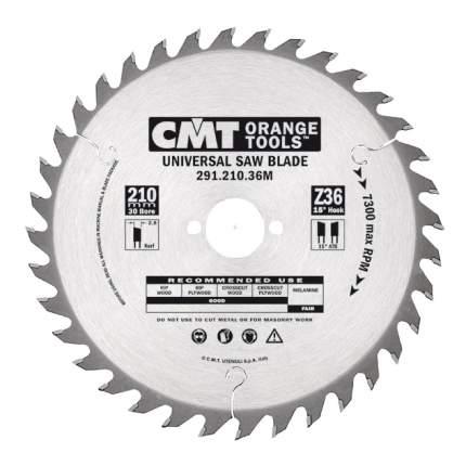 Диск по дереву для дисковых пил CMT 291.240.36M