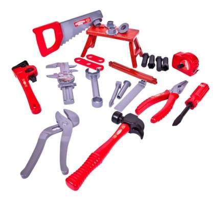 Помогаю папе. набор инструментов в чемодане pt-00270