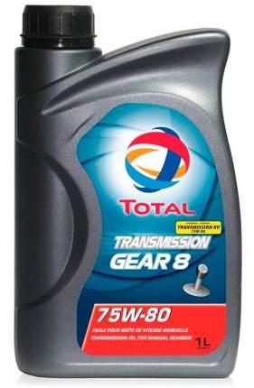 Трансмиссионное масло TOTAL Transmission Gear 8 75W80 1л (201278)