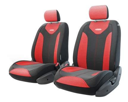 Комплект чехлов на сиденья Autoprofi Matrix TRS/MTX-001G BK/RD