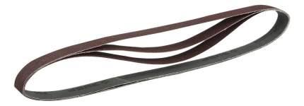 Шлифовальная лента для ленточной шлифмашины и напильника Зубр 35547-080