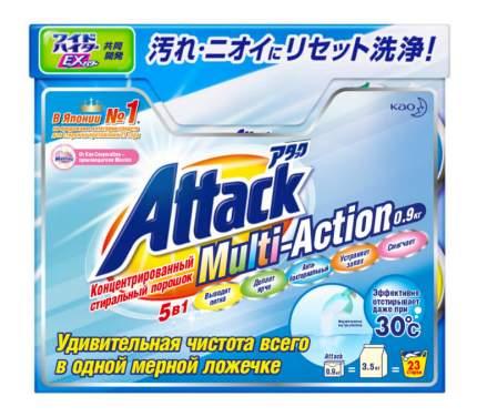 Порошок для стирки Attack multi-action 5в1 0.9 кг