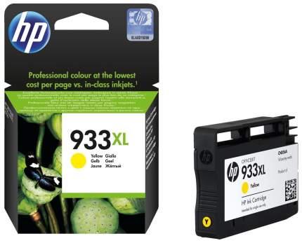 Картридж для струйного принтера HP 933XL (CN056AE) желтый, оригинал