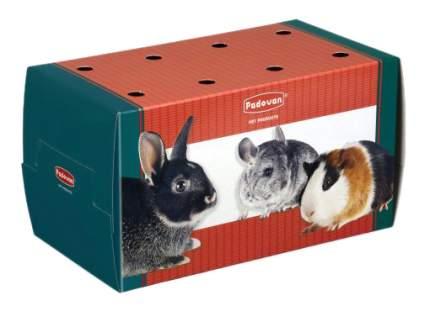 Переноска для грызунов Padovan Trasportino grande одноразовая картонная, 22,5х12,5х12,5см