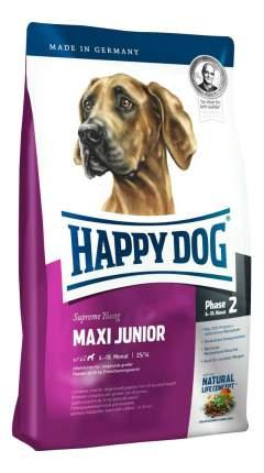Сухой корм для щенков Happy Dog Supreme Young Maxi Junior, для крупных пород, птица, 15кг